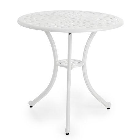 Café & Trädgårdsmöbler | Arras cafébord Vit 70 cm