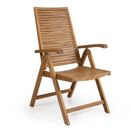 Café & Trädgårdsmöbler | Volos positionsstol i teak