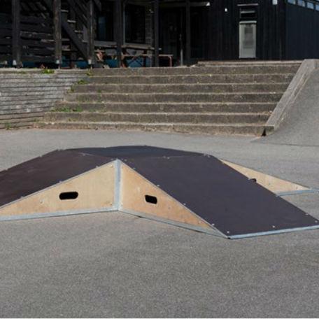 Skateboardramper   4 st ramper och 1 st box