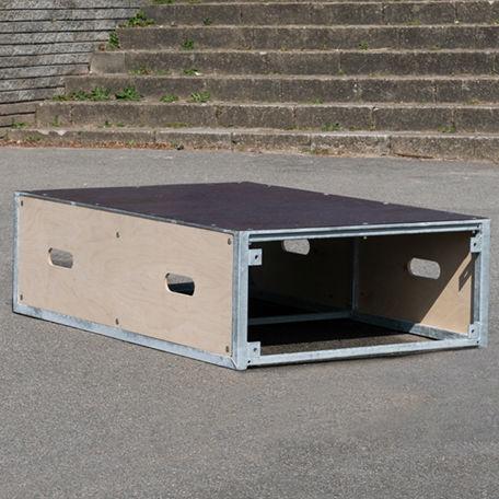 Skateboardramper   Skatebox extra bred