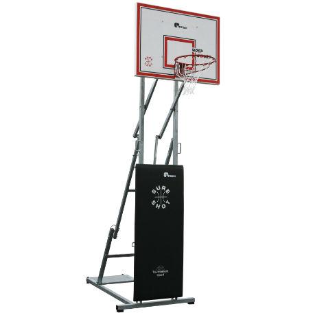 Basketställningar | Streetbasket Court - Hoppfällbar