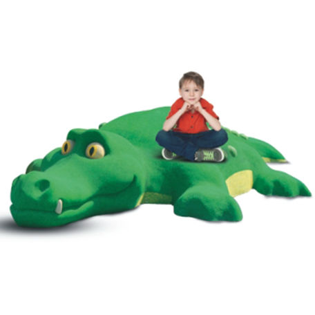Lekskulpturer | Gummidjur Krokodilen