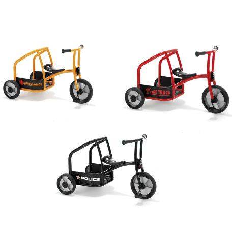 Sandlådor | Cykelset Circleline, 3 Cyklar