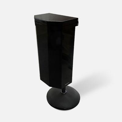 Papperskorgar | Papperskorg Tilt 40L med betongfot