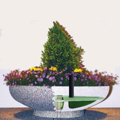 Planteringskärl   Vattningsinsats till Oas 80 cm