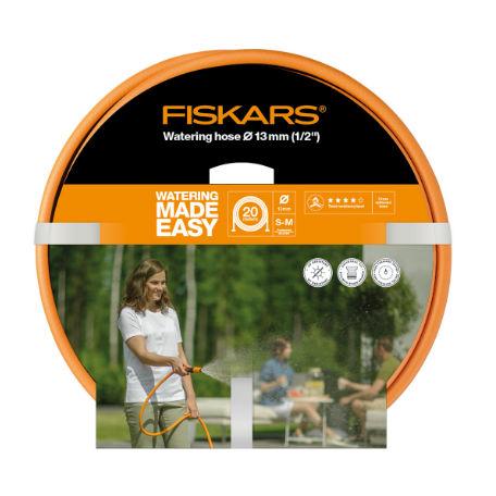 Handredskap | Fiskars Vattenslang Q4 20m Ø13mm(1/2