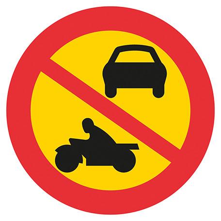 Trafikskyltar | Förbud mot trafik