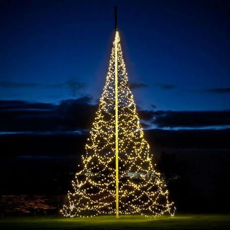 Flaggstångsbelysning | Julbelysning Fairybell Deluxe 10-12m 4000 LED