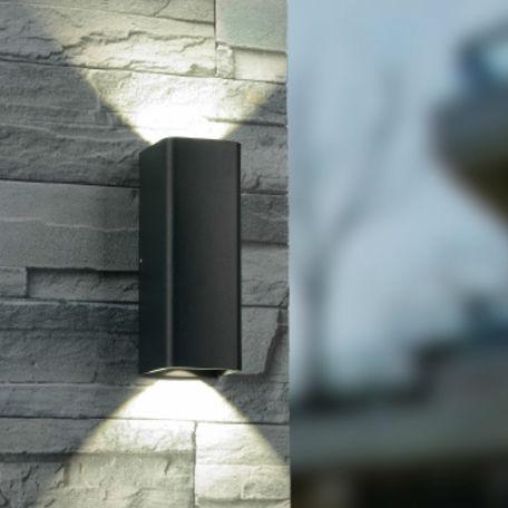 Väggbelysning | Fasadbelysning Andy, 2x6W
