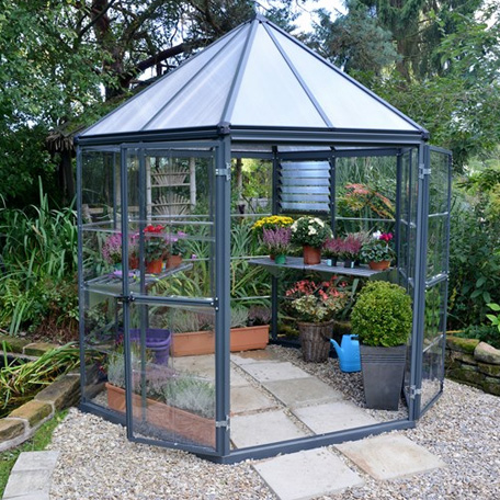 Växthus | Växthus Oasis hexagonal 4 m2