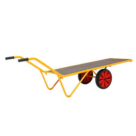 Dragkärror | Perrongkärra 500 kg med Punkteringsfria hjul