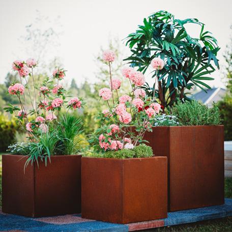 Planteringskärl | Planteringskärl Clara i Corten