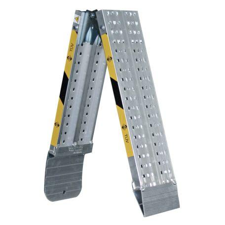 Ramper | Lättviktsramper vikbar av aluminium 1,5-2,5 m