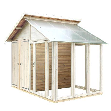 Växthus | Redskabsbod/Växthus 6.6 m2