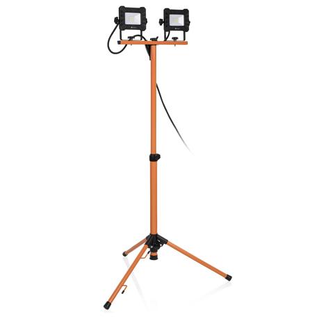 Arbetsbelysning | LED-arbetslampa tripod 2 x 10W