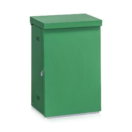 Säckhållare   Säckhållare 125 L i Plåt Grön
