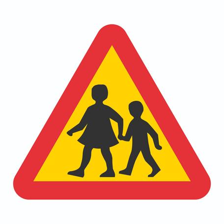 Varningsskyltar | Varning för barn
