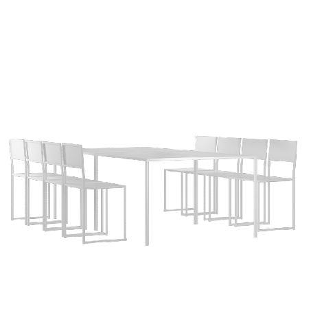 Café & Trädgårdsmöbler   Design of Dining M Set 8