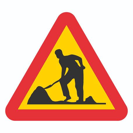 Varningsskyltar | Varning för vägarbete
