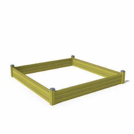 Sandlådor | Sandlåda i HPL 300 x 300 cm