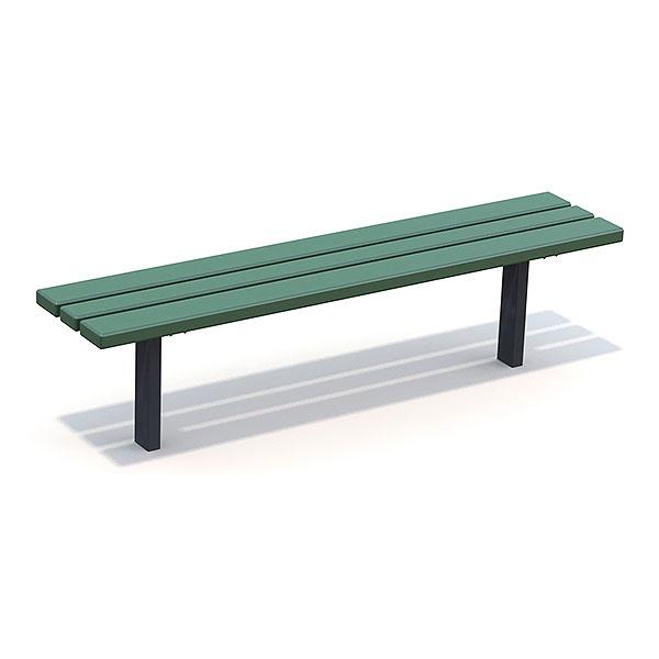 Parkbänkar | Parkbänk Ekeby Grön-Svart