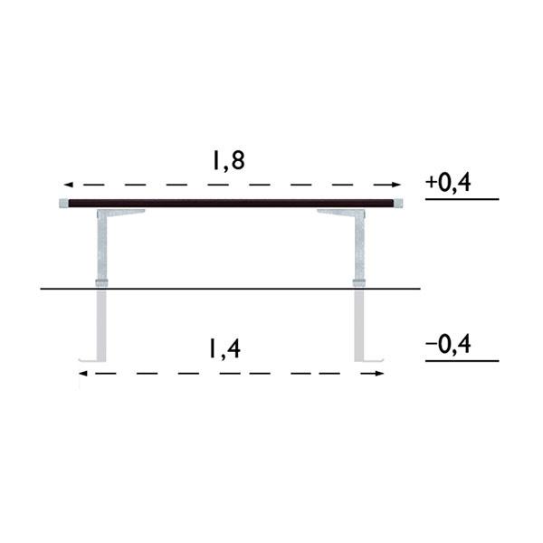 Parkbänkar | Parkbänk Pixbo 1,8 m