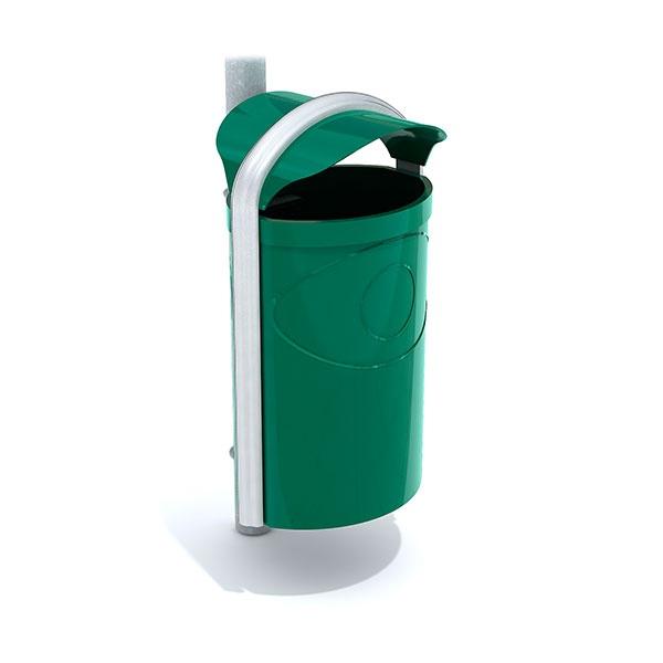 Papperskorgar | Papperskorg Ellipse 60L Grön