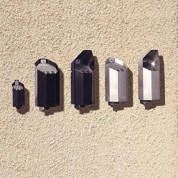 Askkoppar | Askkopp Asken svart med tak