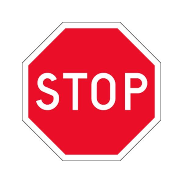 Trafikskyltar | Vägmärke Stopplikt
