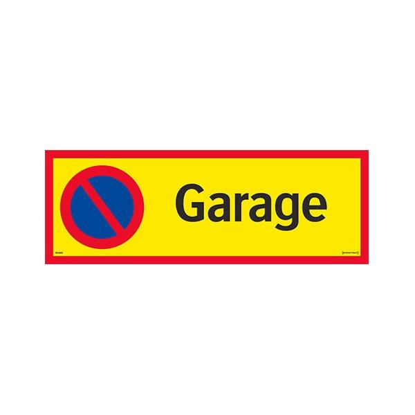 Parkeringsskyltar | Parkering förbjuden garage
