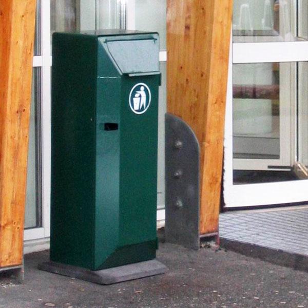 Papperskorgar | Papperskorg San Set 125L Grön