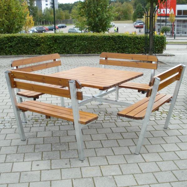 Picknickbord & Parkbord | Picknickbord Quattro Steel