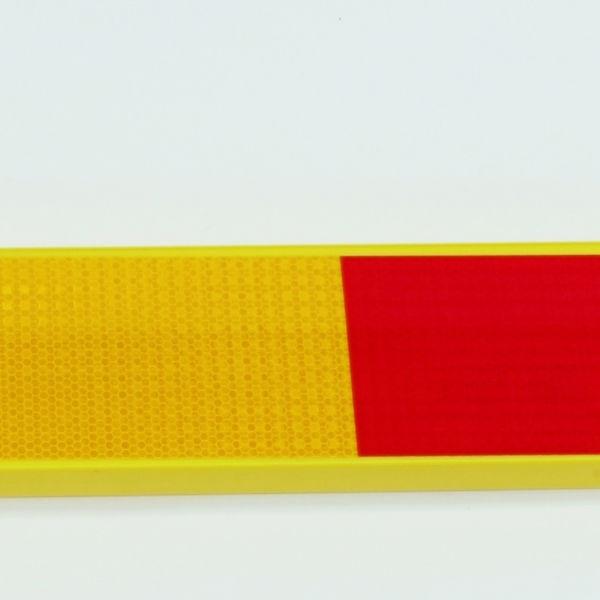 Trafikavstängare | Avstängningsbräda i plast 25x105x3000mm