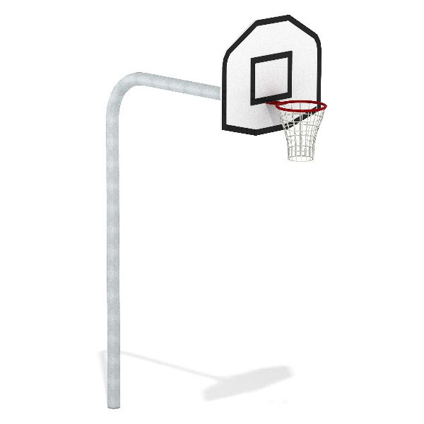 Basketställningar | Komplett Basketställning Gooseneck 3.05M