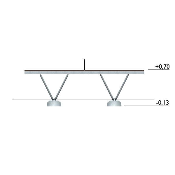 Bordtennisbord | Bordtennisbord inkl. nät
