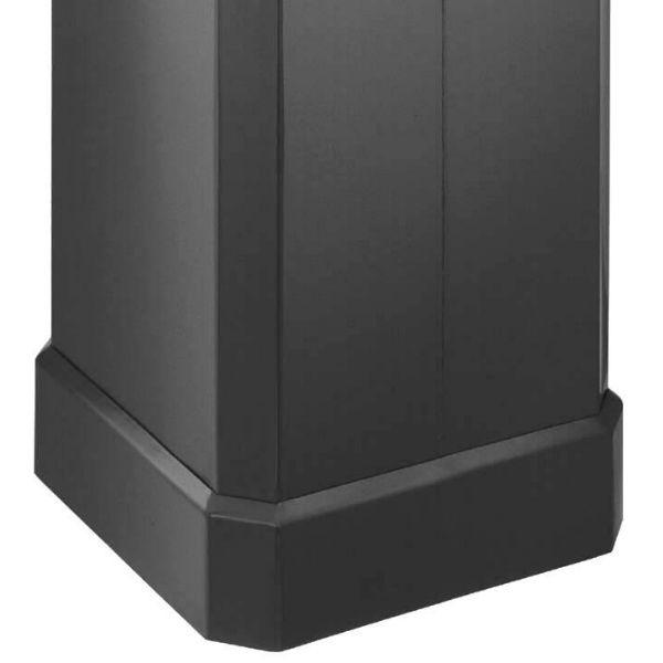 Papperskorgar | Papperskorg Jumbo 90 - 150L, svart