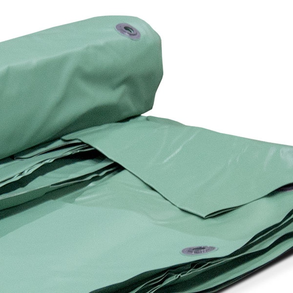 Presenningar | PVC presenning 650g -m2 Grön