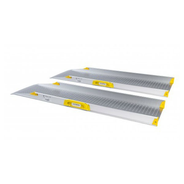 Ramper | Portabel ramp Perfolight E1 extra bred
