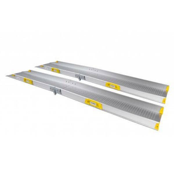 Ramper | Portabel ramp Perfolight E2 extra bred