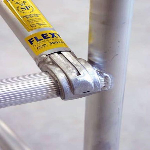 Rullställningar | Flexy Rullställning Enkel plattformsbredd 0,7 x 3,0m - 1,3 -12,5m