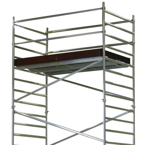 Rullställningar | Flexy Rullställning Dubbel plattformsbredd 1,4 x 2,4m - 1,3 -12,5m