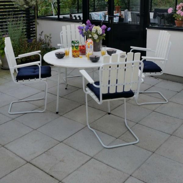 Café & Trädgårdsmöbler | Amanda Grupp Vit
