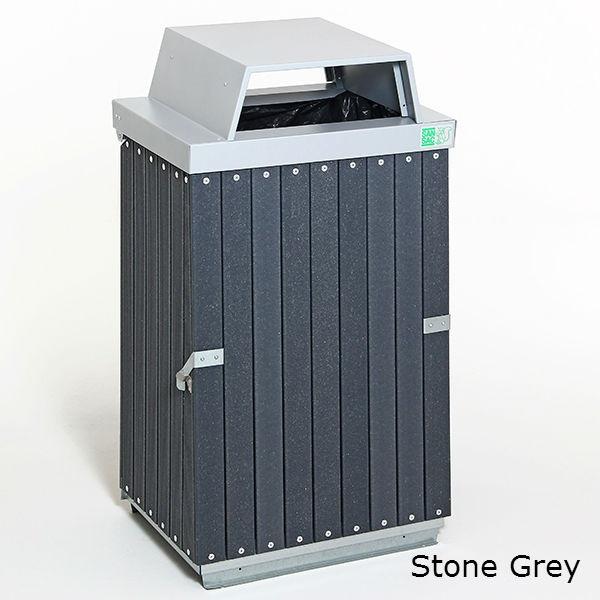Säckhållare | Underhållsfri Säckhållare med öppen inkasttopp