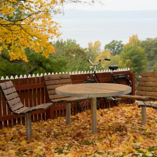Picknickbord & Parkbord | Parkbord Sofiero Runt