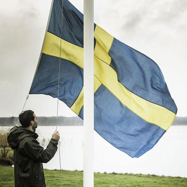Flaggstänger & Tillbehör | Flaggstång Tradition inkl Flagga och Vimpel