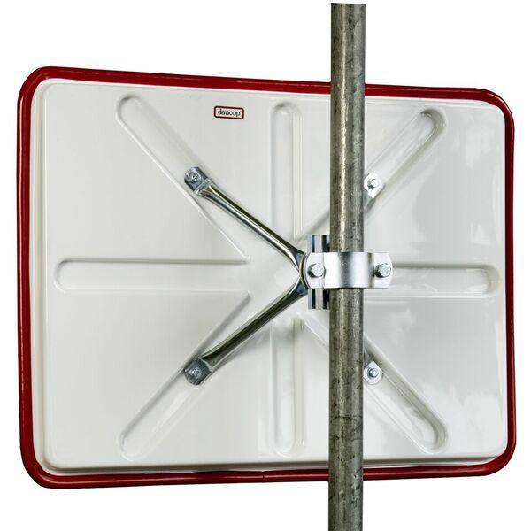 Trafikspeglar | Trafikspegel 40 x 60 cm i polykarbonat (vandalresistent)
