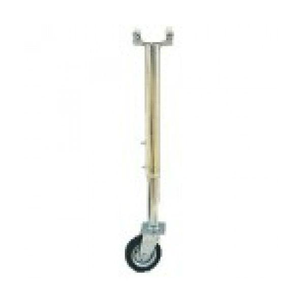 Bommar & Avspärrning | Stödben med hjul till väggrind teleskopisk 3,2 - 5,5m