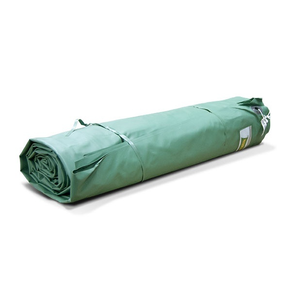 Presenningar | PVC presenning 650g 6x8m Grön