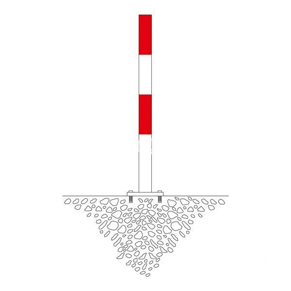 Bommar & Avspärrning | Avspärrningsstolpe Morion 60mm
