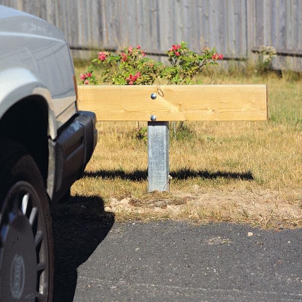 Parkeringsräcken | Parkeringsräcke för platsgjutning 45x190mm